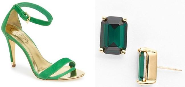emerald accessories