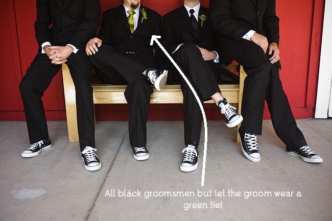 groomsmen attire for irish theme wedding