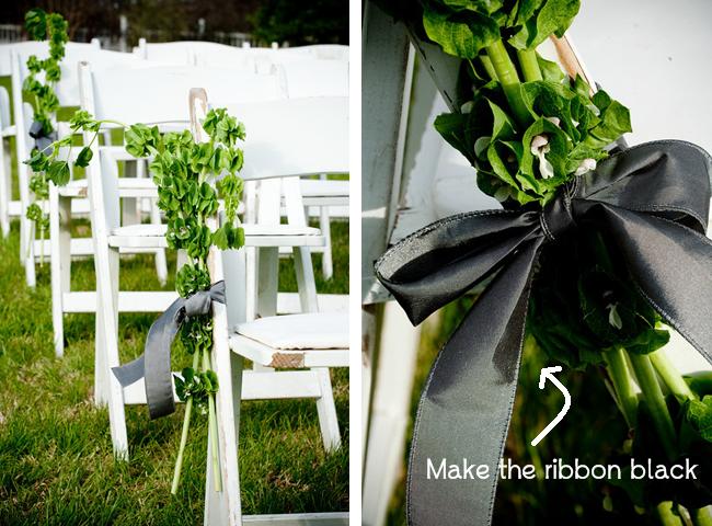 irish ceilidh wedding inspiration aisle decor