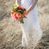 spring flower styled shoot