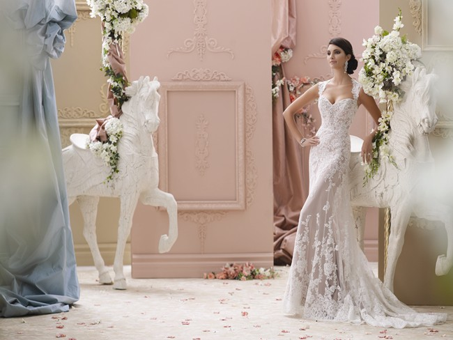 115229 by David Tutera for Mon Cheri