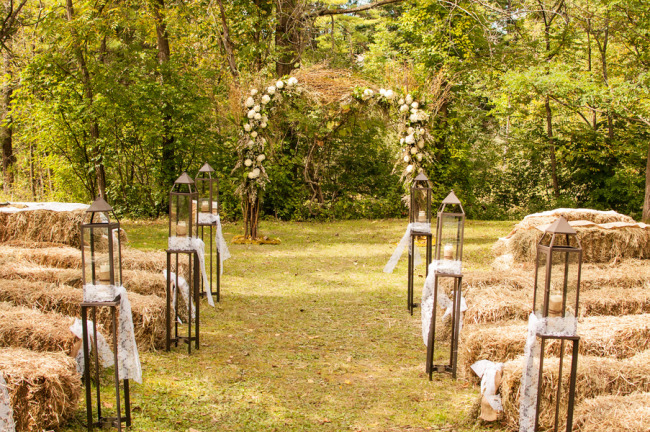 Chic Country Wedding At Le Tree Lane B