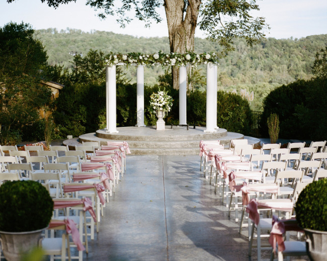 Elegant Pink Wedding at the Tate House Mansion