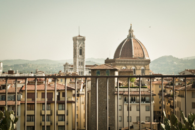 City scape of Florence Italy