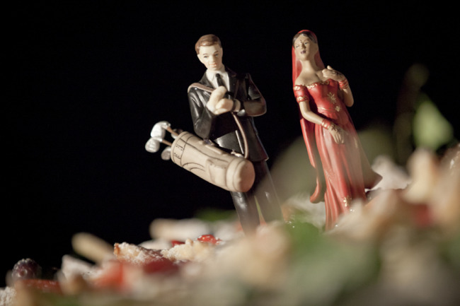 Scottish and Indian themed cake toppers