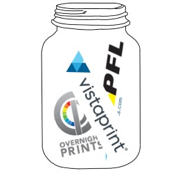 printing options in mason jar