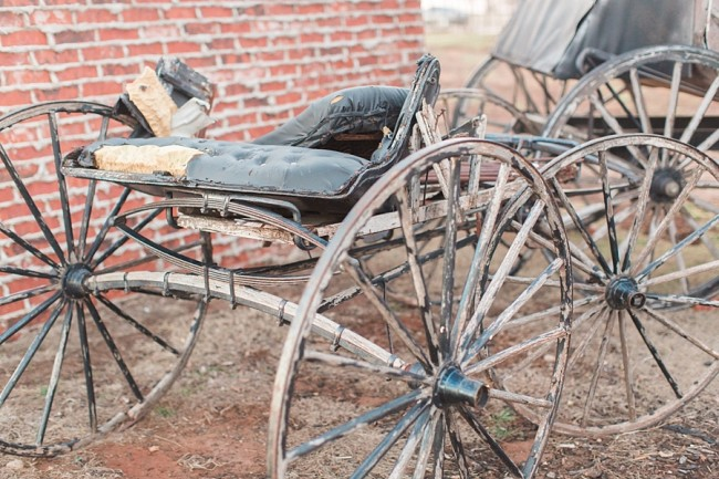 old horse drawn buggy