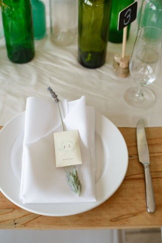 """a packet of lavender seeds instructing to """"let love grow"""" for Wedding favors"""