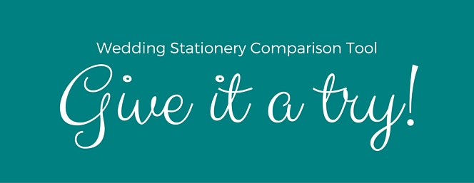 Wedding Stationery Comparison Tool Banner (2)