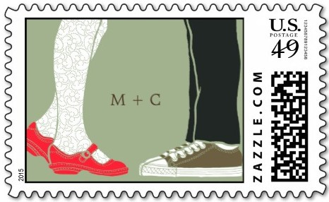 wedding stamp example