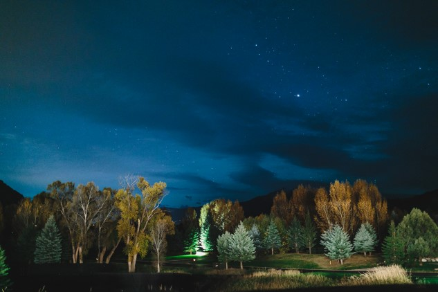 nighttime sky at Aspen Glen