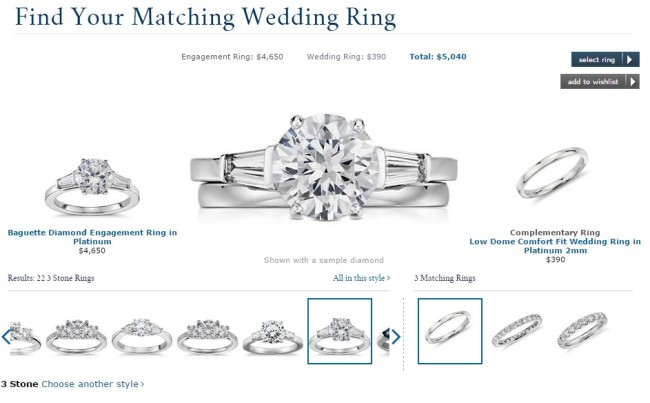 Matching wedding ring tool online