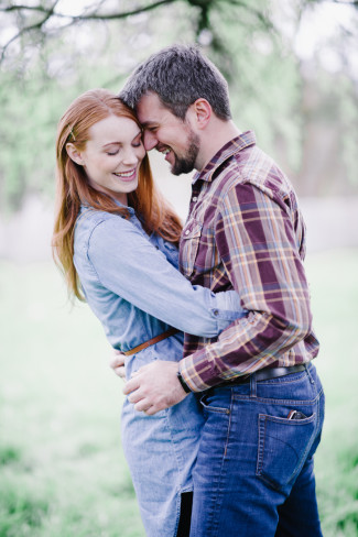 Outdoor Engagement shoot captured by Barrie Anne Photography