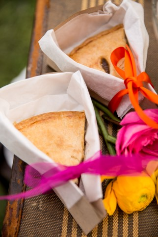 Pie slices by Uncle Willie's Pies and Catering for wedding