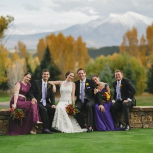 fall wedding at aspen glen