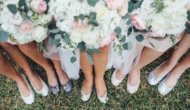 Bridesmaid gift idea – flats
