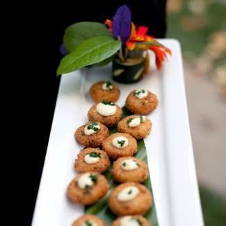 Continental Caterers wedding appetizers