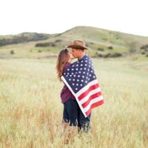 Country Guy and California Girl Engagement