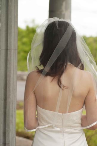 visor veil length