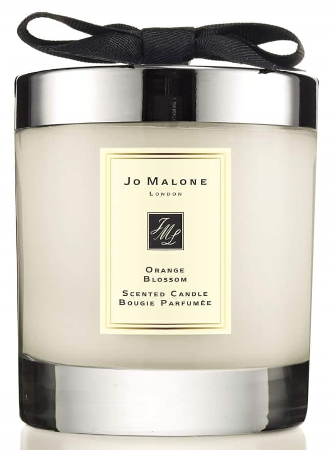 Jo Malone Orange Blossom Candle for bridemaids gift