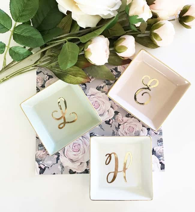 Personalized Ring Dish Bridesmaid Gifts