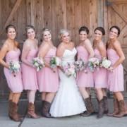 A Rustic Barn Wedding at Rivercrest Farm