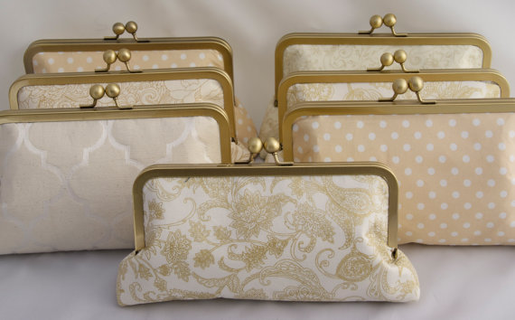 Jenny Girl Designs vintage clutch purse for bridesmaids gifts
