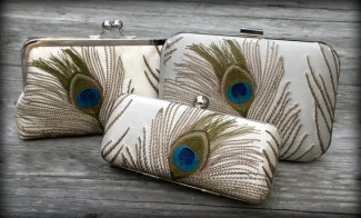 Peacock Wedding Purse