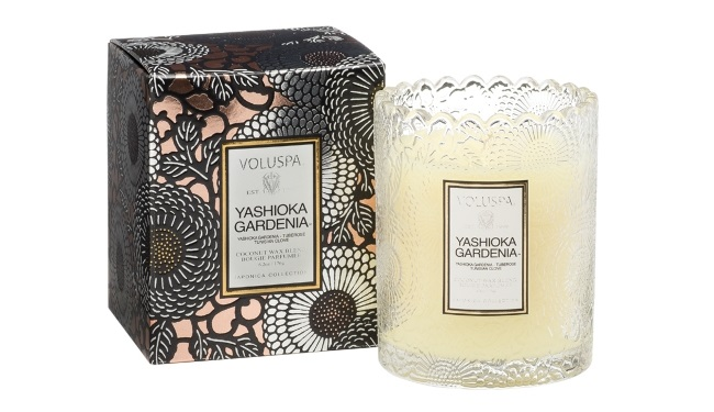 voluspa candle for bridesmaid thank you gift