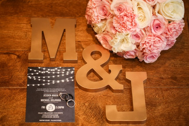 Black and white wedding invitations from paper source