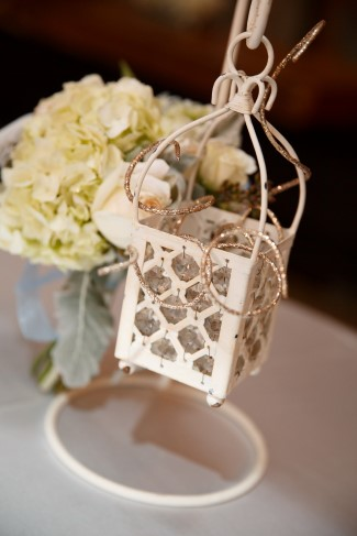 hanging white lantern decor