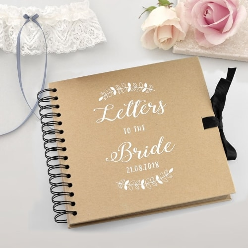 scrapbook for bride gift