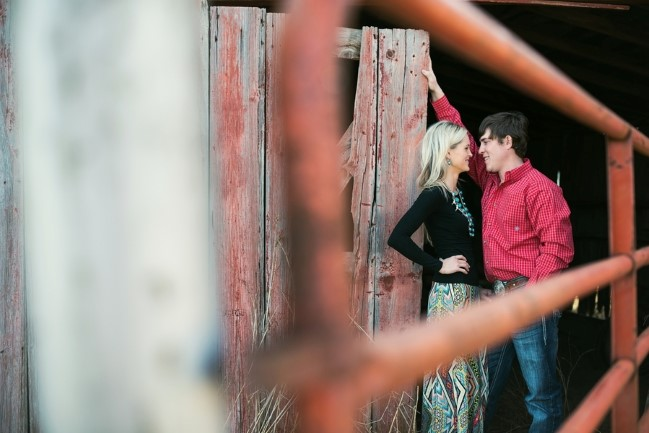 Ranch engagement shoot captured by  blue elephant photography