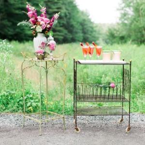 Summer cocktail for garden wedding