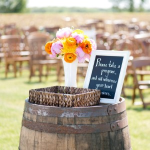 outdoor wedding at mjs farm
