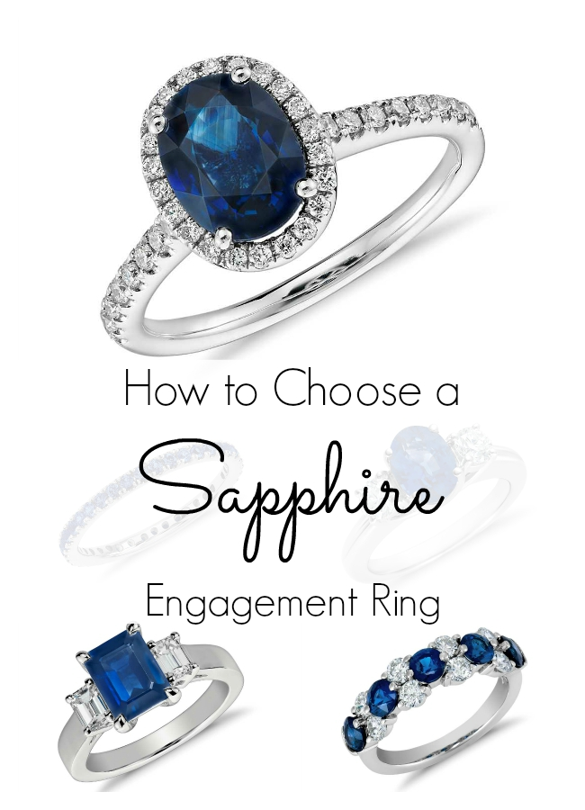 finish engagement sapphire ring edwardian product brushed diamond and style