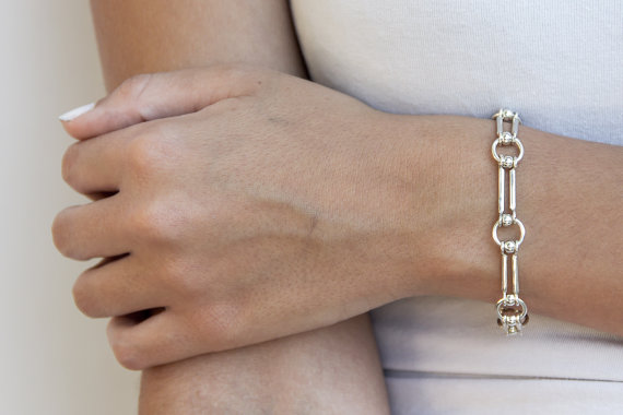 925 silver bracelet – chain link bracelet