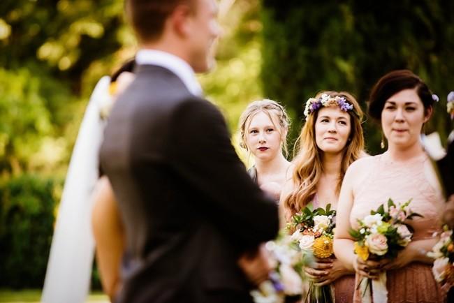 Outdoor park wedding in California captured by Lauren Lindley Photography