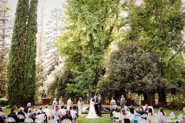 Wedding at Empire Mine State Park