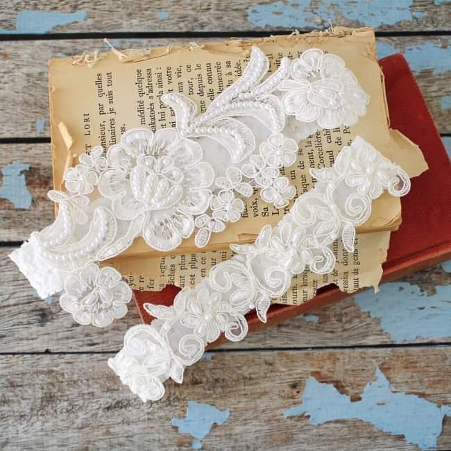 bridal garter belt