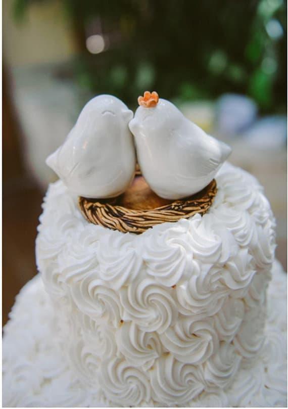 21 Unique Love Bird Wedding Cake Toppers