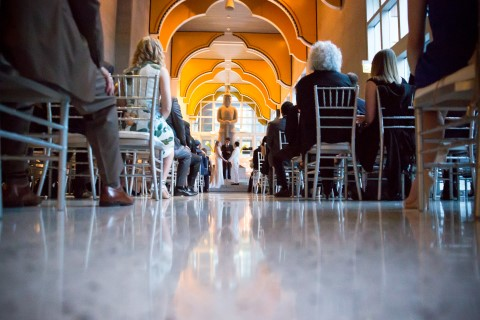 Wedding Ceremony At Seattle Art Museum Coordinated By Manette Gracie Events