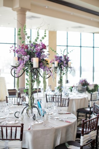 Wedding reception created by Blush by Brandee Gaar
