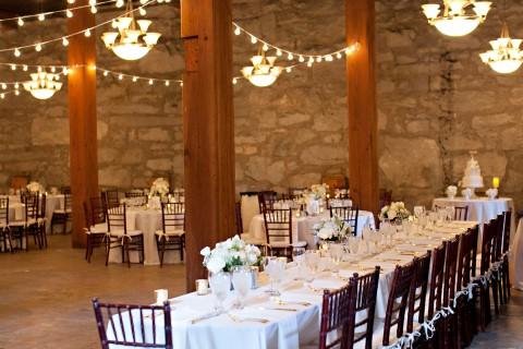 Elegant Fall Wedding At Chateau Rive At The Flour Mill