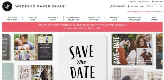 Wedding Paper Divas Stationery Review – Save the Dates Wedding Paper Divas