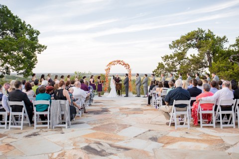 Outdoor wedding at Terradorna