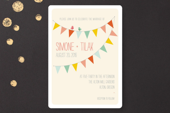 Barn Party! wedding invitation from Minted