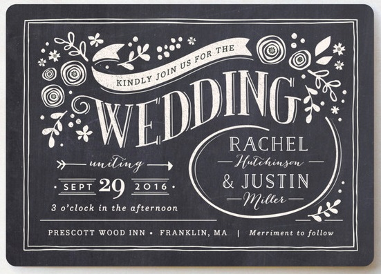 example of digital print wedding stationery technique
