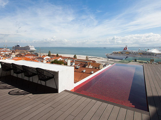 Memmo alfama hotel review lisbon room with a view for Lisbon boutique hotel swimming pool