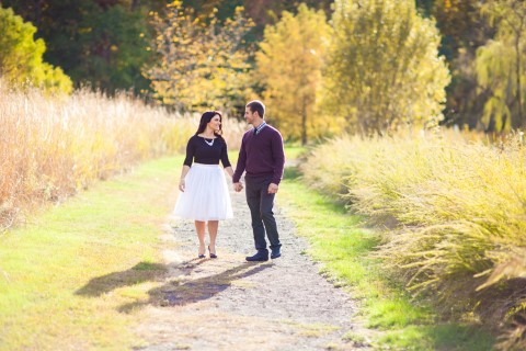 Engagement Shoot in Colonial Park